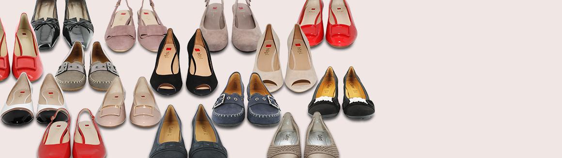 XXL Női cipő Cipők Női kollekció Egyedi méretű cipők